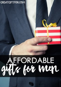 Affordable Gift Ideas for Men: Gift ideas for men that are under $35 (and are rated with at least 4 stars)